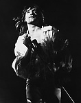Rod Stewart 1974 in The Faces at Buxton Festival......