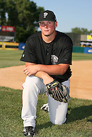 Travis Snider of the Lansing Lugnuts during the Midwest League All-Star game.  Photo by:  Mike Janes/Four Seam Images