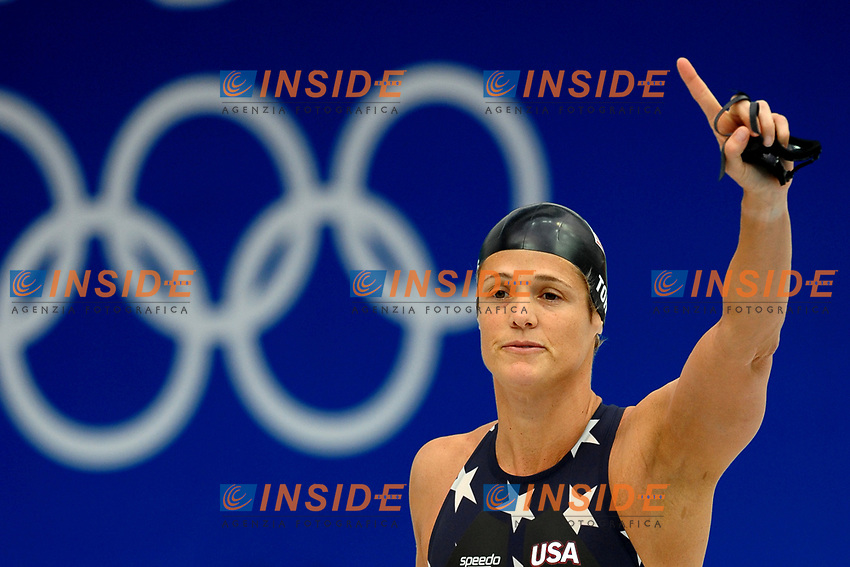 Dara Torres, Germany, Women's 50M Freestyle<br /> National Aquatics Centre - Swimming - Nuoto<br /> Pechino - Beijing 16/8/2008 Olimpiadi 2008 Olympic Games<br /> Foto Andrea Staccioli Insidefoto