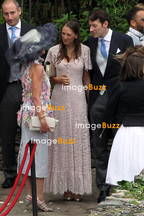 Arrival of the guests marriages of Pierre Casiraghi and Béatrice Borromeo