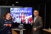 SCHAATSEN: HEERENVEEN: 10-10-2018, IJsstadion Thialf, Perspresentatie Shorttrack, ©foto Martin de Jong