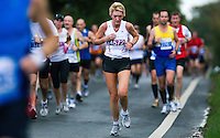 09 SEP 2011 - CHESTER, GBR - Karen Massey - MBNA Chester Marathon (PHOTO (C) NIGEL FARROW)