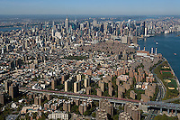 aerial photograph Lower East Side, Manhattan, New York City