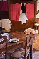 Europe/France/Normandie/Basse-Normandie/50/Villedieu-les-Poêles: Musée du Meuble normand -  Intérieur du Coutançais // // France, Manche, Cotentin,Villedieu les Poeles:  Museum of Norman Furniture