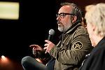 "Director Alex de la Iglesia during the presentation of the press conference to present the new Alex de la Iglesia film, ""El Bar"" in Madrid. April 01, 2016. (ALTERPHOTOS/Borja B.Hojas)"
