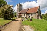 Village parish church of Saint Catherine, Pettaugh, Suffolk, England, UK