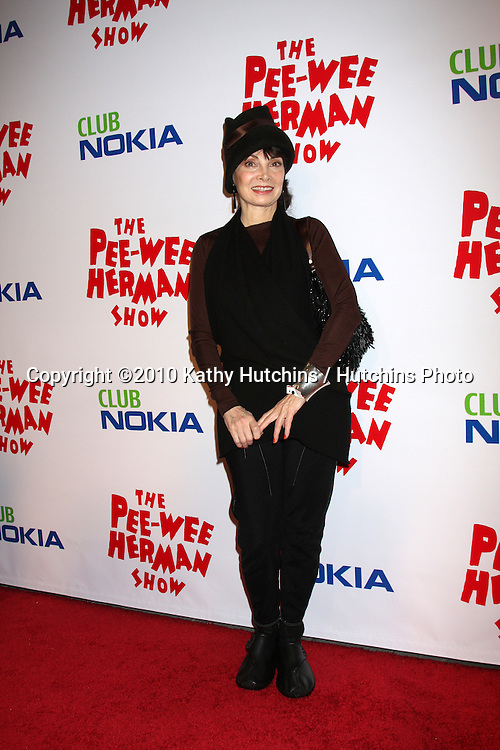 "Toni Basil.arriving at the ""The Pee Wee Herman Show"" Opening Night..Club Nokia.Los Angeles, CA.January 20, 2010.©2010 Kathy Hutchins / Hutchins Photo...."