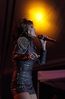 Alejandra Guzman durante su presentacion en la feria de Puebla el Mayo 2014<br /> (*Foto:HildaRios/NortePhoto*)