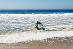 Surfer John John Florence on the beach in Santa Monica, California September 30, 2015. <br /> CREDIT: Kendrick Brinson for The Wall Street Journal<br /> WORKOUT_florence