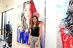 SANTA MONICA - JUN 25: Gabriella Bloomgarden at the David Bromley LA Women Art Exhibition opening reception at the Andrew Weiss Gallery on June 25, 2016 in Santa Monica, California