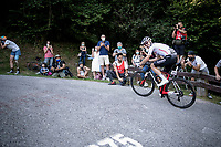 Chris Hamilton (AUS/Sunweb) up the brutal Muro di Sormano (avg 17%/max 25%)<br /> <br /> 114th Il Lombardia 2020 (1.UWT)<br /> 1 day race from Bergamo to Como (ITA/231km) <br /> <br /> ©kramon