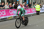 Eddie Dunbar (IRL) sets the early fast time during the Men Elite Individual Time Trial of the UCI World Championships 2019 running 54km from Northallerton to Harrogate, England. 25th September 2019.<br /> Picture: Seamus Yore | Cyclefile<br /> <br /> All photos usage must carry mandatory copyright credit (© Cyclefile | Seamus Yore)