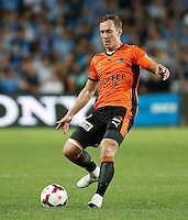 Brisbane Roar Matthew Smith during his A-League match against Sydney FC in Sydney, March 14, 2014. Photo by Daniel Munoz/VIEWPRESS EDITORIAL USE ONLY