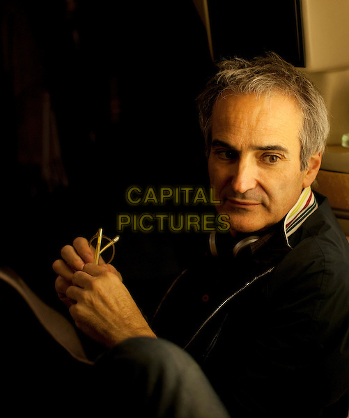 Olivier Assayas (Director)<br /> on the set of Clouds of Sils Maria (2014) <br /> *Filmstill - Editorial Use Only*<br /> CAP/NFS<br /> Image supplied by Capital Pictures