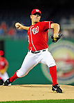 24 September 2010: Washington Nationals pitcher Jordan Zimmermann on the mound against the Atlanta Braves at Nationals Park in Washington, DC. The Nationals defeated the Braves 8-3 to take the first game of their 3-game series. Mandatory Credit: Ed Wolfstein Photo
