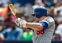 Ross Stripling.<br /> Acciones del partido de beisbol, Dodgers de Los Angeles contra Padres de San Diego, tercer juego de la Serie en Mexico de las Ligas Mayores del Beisbol, realizado en el estadio de los Sultanes de Monterrey, Mexico el domingo 6 de Mayo 2018.<br /> (Photo: Luis Gutierrez)