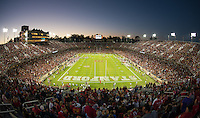 Stanford, Ca - Saturday, September 15, 2012: A sold out Stanford Stadium as the Stanford Cardinal defeated the USC Trojans 21-14.
