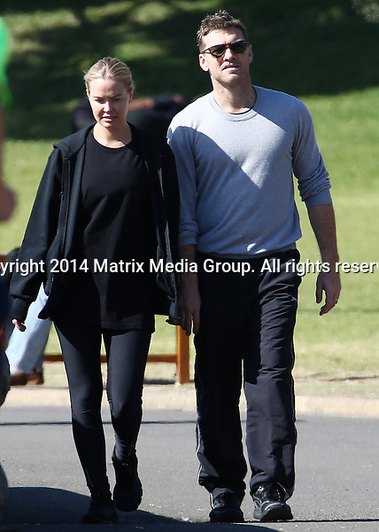 4 AUGUST 2014 SYDNEY AUSTRALIA<br /> <br /> EXCLUSIVE PICTURES<br /> <br /> Lara Bingle pictured with Sam Worthington taking a leisurely walk around the harbour - the pair were spotted walking from Potts Point through Wooloomoolloo and around Lady Macquaries Chair and The Royal Botanical Gardens to the Sydney Opera House were they decided to take a taxi home. Lara was wearing a baggy loose fitting t-shirt with black leggings and hoodie.<br /> <br /> *No web/digital use without clearance*<br /> MUST CALL PRIOR TO USE .<br /> +61 2 9211-1088<br /> Matrix Media Group<br /> Note: All editorial images subject to the following: For editorial use only. Additional clearance required for commercial, wireless, internet or promotional use.Images may not be altered or modified. Matrix Media Group makes no representations or warranties regarding names, trademarks or logos appearing in the images.4 AUGUST 2014 SYDNEY AUSTRALIA<br /> <br /> EXCLUSIVE PICTURES<br /> <br /> Lara Bingle pictured with Sam Worthington taking a leisurely walk around the harbour - the pair were spotted walking from Potts Point through Wooloomoolloo and around Lady Macquaries Chair and The Royal Botanical Gardens to the Sydney Opera House were they decided to take a taxi home. Lara was wearing a baggy loose fitting t-shirt with black leggings and hoodie.<br /> <br /> <br /> *No web/digital use without clearance*<br /> MUST CALL PRIOR TO USE .<br /> +61 2 9211-1088<br /> Matrix Media Group<br /> Note: All editorial images subject to the following: For editorial use only. Additional clearance required for commercial, wireless, internet or promotional use.Images may not be altered or modified. Matrix Media Group makes no representations or warranties regarding names, trademarks or logos appearing in the images.