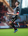 Pars' Shaun Byrne celebrate after he scores their second goal.