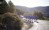Team Wanty - Groupe Gobert 2015 training camp