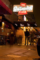 The historic Continental Club is located in the heart of South Congress Avenue in downtown south Austin, Texas - Stock Image.