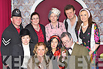 The cast from Ballymac Drama group who performed Brush with a Body in the Castleisland Ivy Leaf theatre on Sunday night Amanda Mannix, Kay Dowling, Una Kerins, Mick Bolger. Back row: John McKeown, Siobhain O'Connor, Catherine Leahy, Maurice O'Connell and Oonagh O'Rahilly