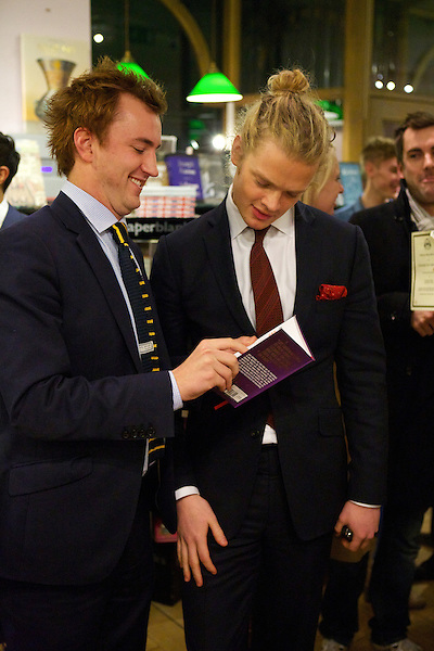 Francis Boulle and Fredrik Ferrier at Boulle's Jewels book launch party