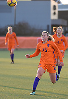 20180326 - VEEN , THE NETHERLANDS : Dutch Dana Foederer  pictured during the UEFA Women Under 17 Elite round game between The Netherlands WU17 and Portugal WU17, on the second matchday in group 1 of the Uefa Women Under 17 elite round in The Netherlands , monday 26 th March 2018 . PHOTO SPORTPIX.BE    DIRK VUYLSTEKE
