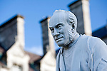 George Salmon's statue, Trinity College, Dublin, Ireland