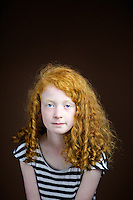 Abigail McKay, 7, schoolgirl, from Perth.<br /> <br /> 'Worst thing is people look at the whole family having ginger hair. Best is when I wear a Merida [Disney character] costume and I don't need a wig.'