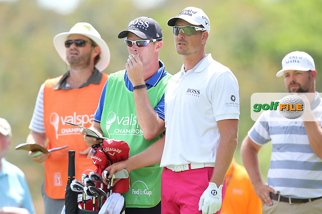 Henrik Stenson of Sweden drives from the 2nd tee during the 3rd round of the Valspar Championship, Innisbrook Resort (Copperhead), Palm Harbor, Florida, USA<br /> Picture: Peter Mulhy / Golffile