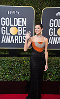 Allison Williams arrives at the 75th Annual Golden Globes Awards at the Beverly Hilton in Beverly Hills, CA on Sunday, January 7, 2018.<br /> *Editorial Use Only*<br /> CAP/PLF/HFPA<br /> &copy;HFPA/Capital Pictures