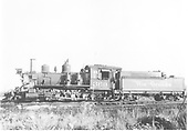Fireman's-side view of D&amp;RGW #360 in Gunnison yard.<br /> D&amp;RGW  Gunnison, CO  Taken by Thode, Jackson C. - 9/19/1948