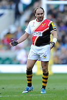 Andy Goode of London Wasps during the Aviva Premiership match between London Wasps and Gloucester Rugby at Twickenham Stadium on Saturday 19th April 2014 (Photo by Rob Munro)
