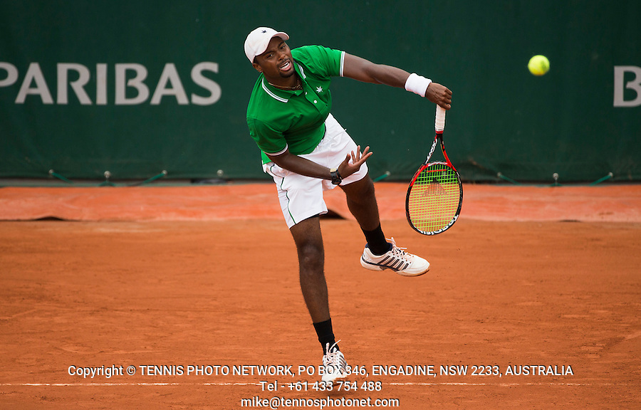 DONALD YOUNG (USA)<br /> <br /> TENNIS - FRENCH OPEN - ROLAND GARROS - ATP - WTA - ITF - GRAND SLAM - CHAMPIONSHIPS - PARIS - FRANCE - 2016  <br /> <br /> <br /> <br /> &copy; TENNIS PHOTO NETWORK