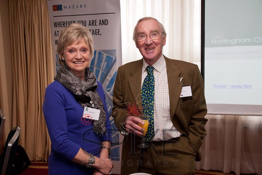 Angela Sinclair and David Francis