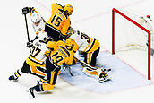 June 5th 2017, Nashiville, TN, USA;  Nashville Predators center Calle Jarnkrok (19) scores past Pittsburgh Penguins goalie Matt Murray (30) during game 4 of the 2017 NHL Stanley Cup Finals between the Pittsburgh Penguins and Nashville Predators