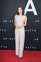 """LOS ANGELES - SEP 18:  Mina Sundwall at the """"Ad Astra"""" LA Premiere at the Arclight Hollywood on September 18, 2019 in Los Angeles, CA"""