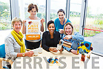 Dame Kelly Holmes officially launches the Palititive Care coffee morning in University Hospital Kerry on Thursday. <br /> Seated l-r, Maura Sullivan, Dame Kelly Holmes and Andrea O&rsquo;Donoghue.<br /> Back l-r, Mary Shanahan and Mari O&rsquo;Connell.