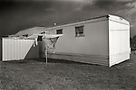 Mobile home court near Lock Haven, PA. 1974