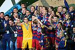 FC Barcelona team group, <br /> DECEMBER 20, 2015 - Football / Soccer : <br /> FIFA Club World Cup Japan 2015 <br /> Award Ceremony <br /> at Yokohama International Stadium in Kanagawa, Japan. <br /> (Photo by YUTAKA/AFLO SPORT)