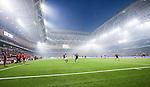 Stockholm 2014-04-16 Fotboll Allsvenskan Djurg&aring;rdens IF - AIK :  <br /> Vy &ouml;ver Tele2 Arena under matchen mellan Djurg&aring;rden och AIK <br /> (Foto: Kenta J&ouml;nsson) Nyckelord:  Djurg&aring;rden DIF Tele2 Arena AIK inomhus interi&ouml;r interior