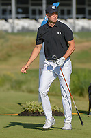 Jordan Spieth (USA) watches his tee shot on 13 during round 2 of the AT&amp;T Byron Nelson, Trinity Forest Golf Club, at Dallas, Texas, USA. 5/18/2018.<br /> Picture: Golffile | Ken Murray<br /> <br /> <br /> All photo usage must carry mandatory copyright credit (&copy; Golffile | Ken Murray)