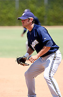 Chris Errecart / AZL Brewers in a rehab appearance against the AZL Cubs at Fitch Park, Mesa - 07/26/2008..Photo by:  Bill Mitchell/Four Seam Images