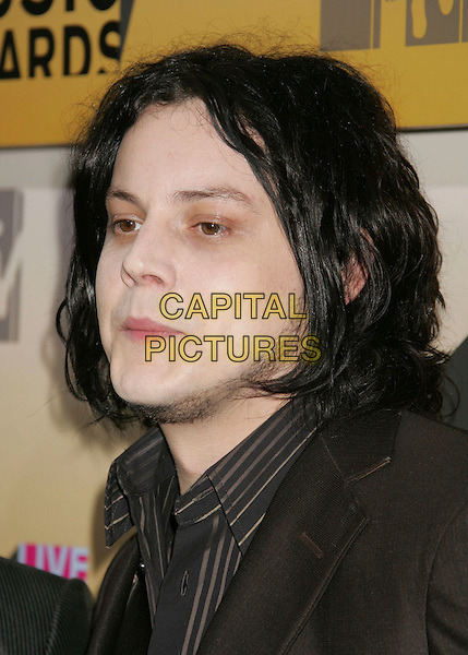 JACK WHITE.Arrivals - 2006 MTV Video Music Awards held at Radio City Music Hall, New York City, New York, USA,.31st August 2006..portrait headshot pale skin beard.Ref: ADM/RE.www.capitalpictures.com.sales@capitalpictures.com.©Russ Elliot/AdMedia/Capital Pictures.