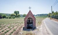 roadside chapel in Opbrakel<br /> <br /> cycling hotspots & impressions in the Vlaamse Ardennen (Flemish Ardennes) <br /> <br /> Cycling In Flanders <br /> Flanders Tourist Board<br /> <br /> ©kramon