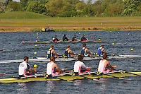 Wallingford Rowing Club Regatta 2011. Dorney..(J18A.4x-).Leander (395).Monmouth Comprehensive School (396).Zimbabwe Rowing Association (398)