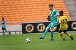 06.01.2019, FNB Stadion/Soccer City, Nasrec, Johannesburg, RSA, FSP , SV Werder Bremen (GER) vs Kaizer Chiefs (ZA)<br /> <br /> im Bild / picture shows <br /> <br /> Sebastian Langkamp (Werder Bremen #15)<br /> #Kabelo Mahlasela (Kaizer Chiefs #17)<br /> Foto &copy; nordphoto / Kokenge