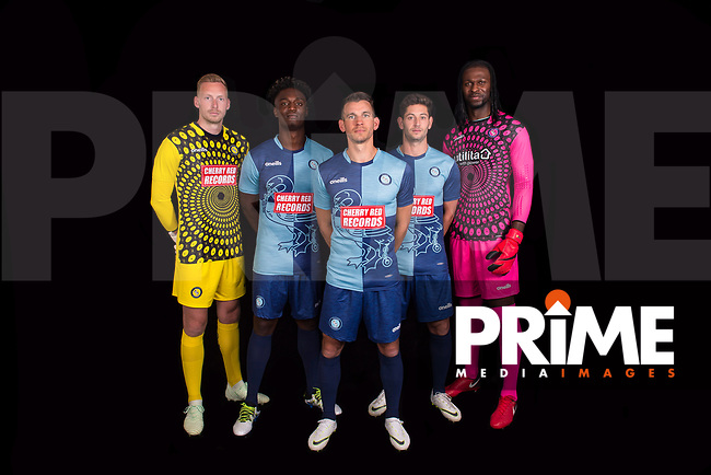 During the Wycombe Wanderers 2018/19 Kit launch at The Training Ground, High Wycombe, England on July 2018. Photo by PRiME Media Images.