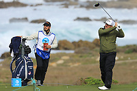 Roberto Diaz (USA) during the second round of the AT&amp;T Pro-Am , Pebble Beach Golf Links, Monterey, USA. 08/02/2019<br />
